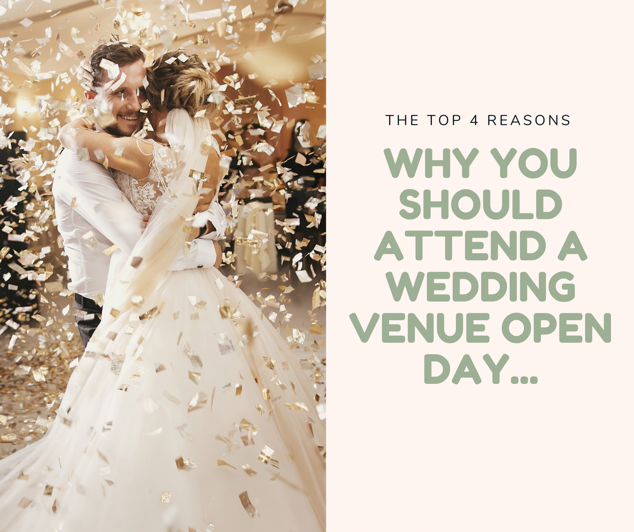 Why you should attend a wedding venue open day...